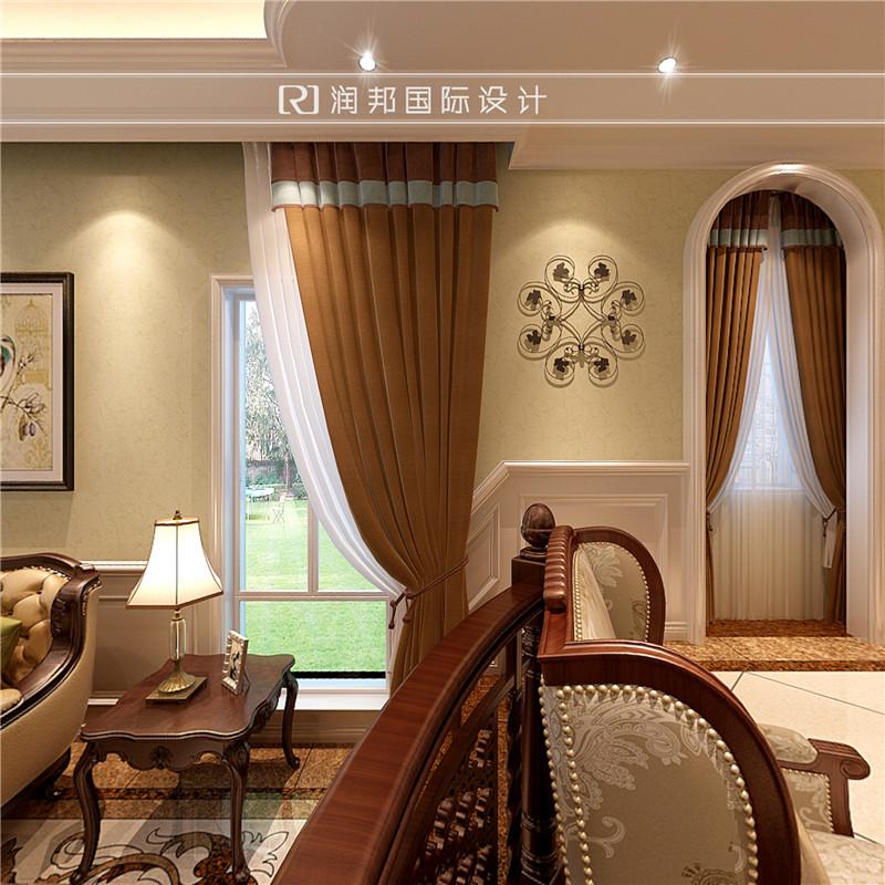 罗托鲁拉别墅住宅美式风格护墙板效果图欣赏