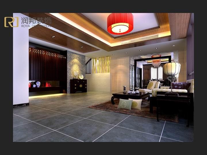 设计说明:        此案是龙湖滟澜山的三层加地下室的居室设计,满足