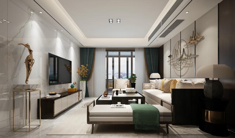 紫金佳苑150平方米新中式风格装修效果图